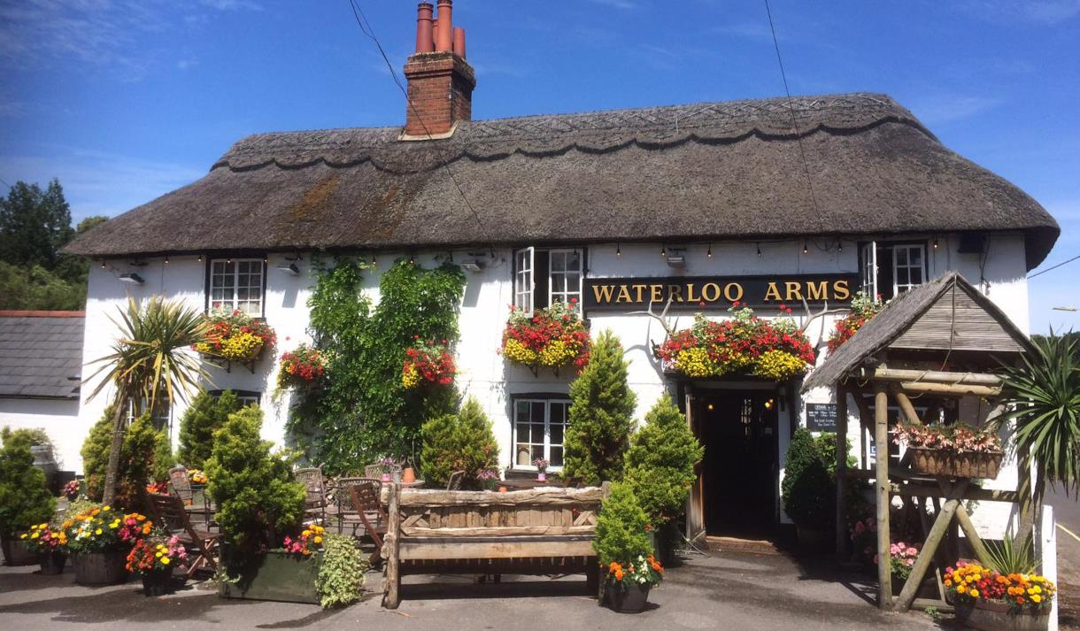 the waterloo arms in lyndhurst in the new forest
