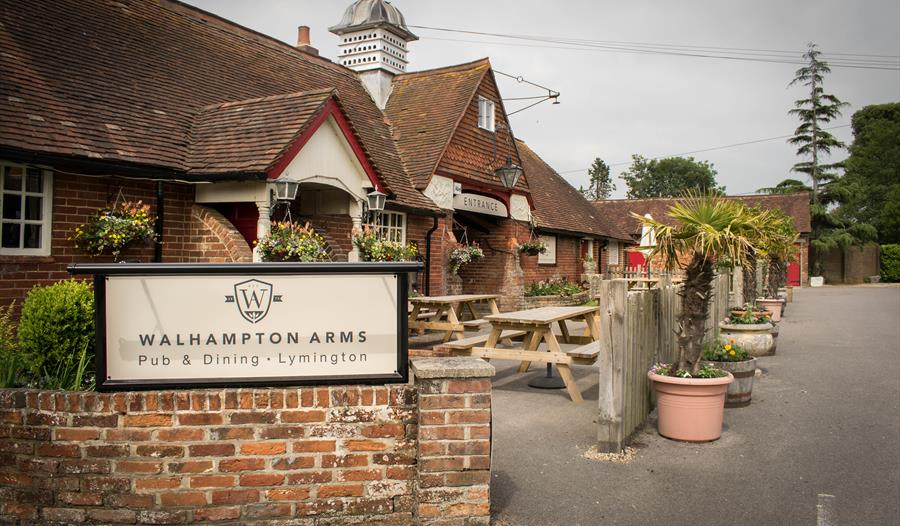 walhampton arms in lymington in the new forest