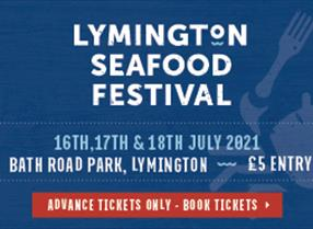 Thumbnail for Lymington Seafood Festival - 16, 17 & 18 July 2021