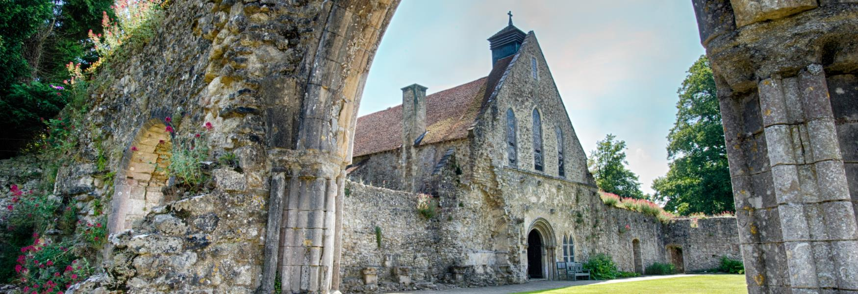 Beaulieu Abbey Historic Site in the New Forest