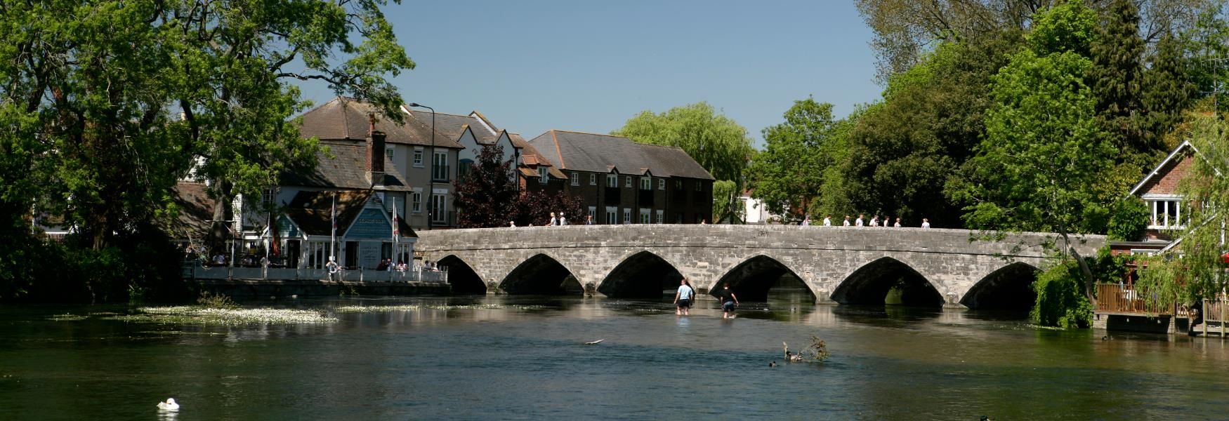 Bridge at Fordingbridge in the New Forest