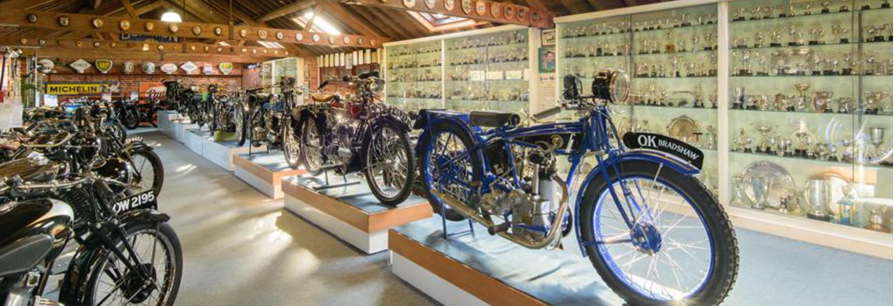 motorcycle museum attraction at sammy millers in the new forest