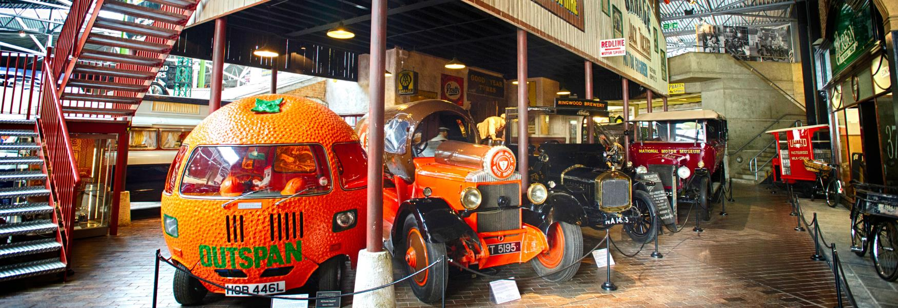 motor museum at beaulieu famous cars in the new forest