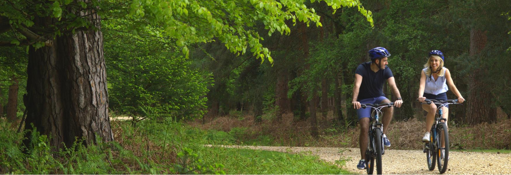 new forest cycle routes - cycling routes in hampshire