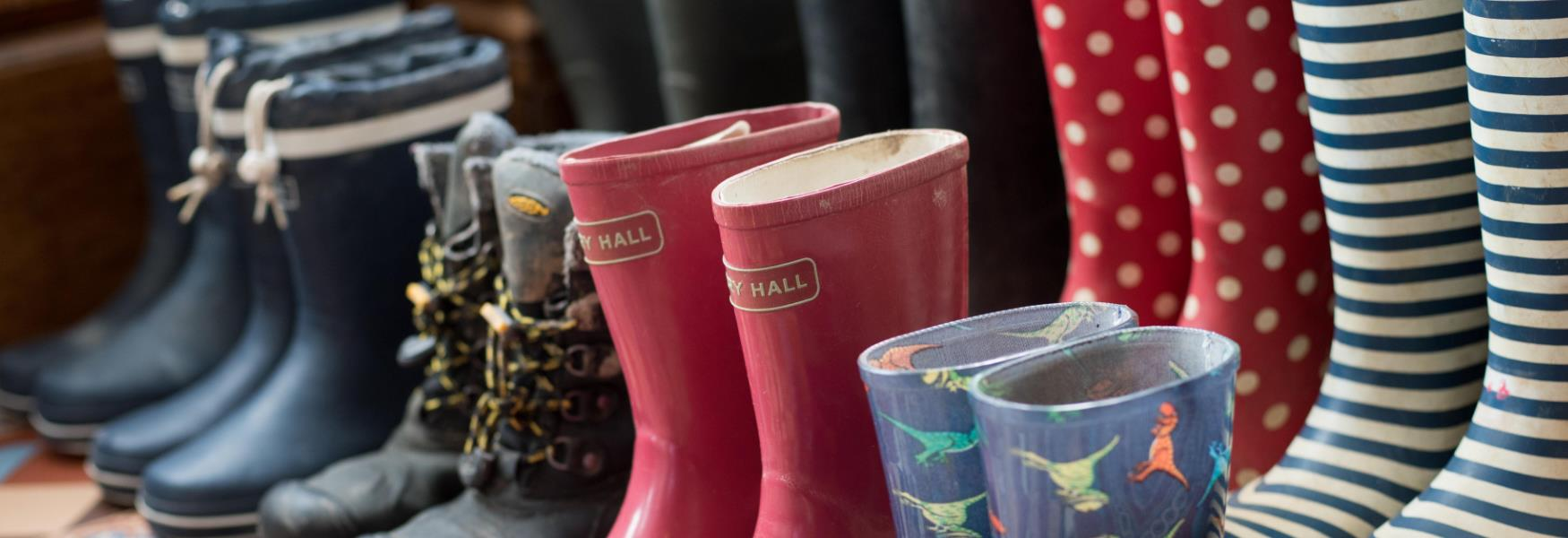 welly boots for rainy days in the new forest