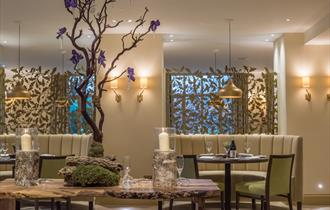 Cambium Restaurant at Careys Manor Hotel in the New Forest