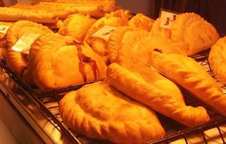 Pasties at Tasty Pastries in the New Forest