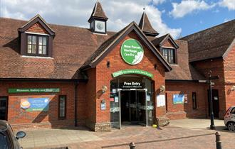 New Forest Heritage Centre entrance
