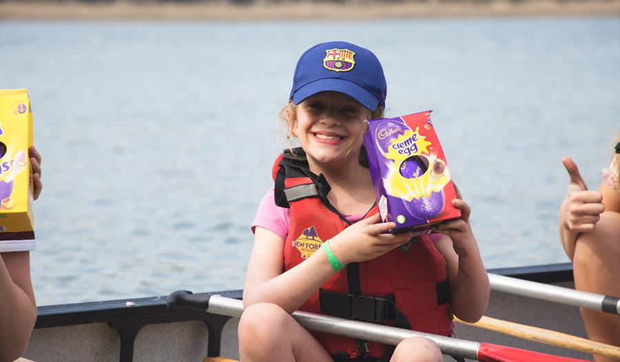 Canoe Easter Egg Hunt with New Forest Activities