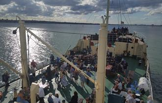 Steamship Shieldhall Music cruise with tribute band RU40