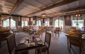 Restaurant at The Mill at Gordleton in the New Forest