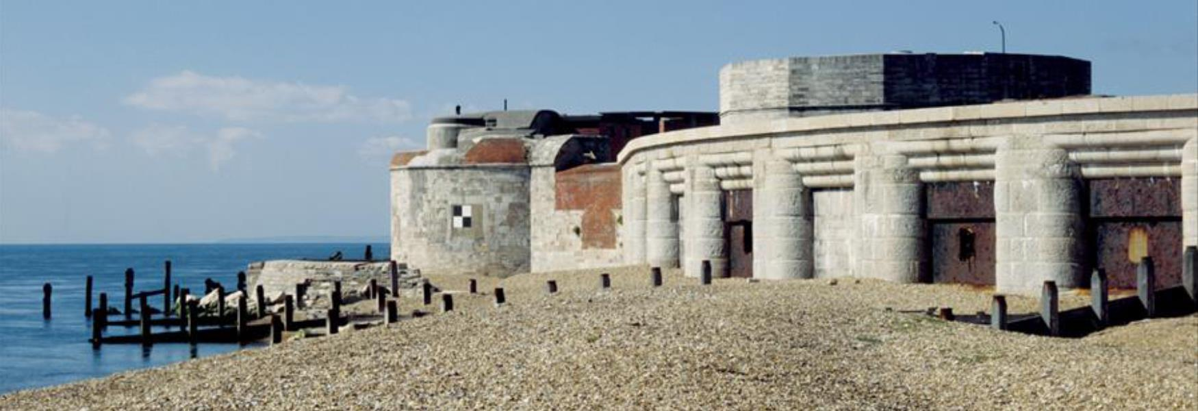 hurst castle museum attraction in milford on sea in the new forest