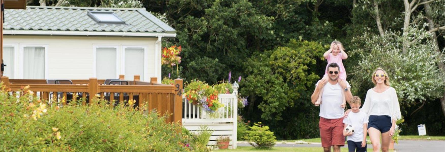 Holiday Park accommodation in Lymington in the New Forest