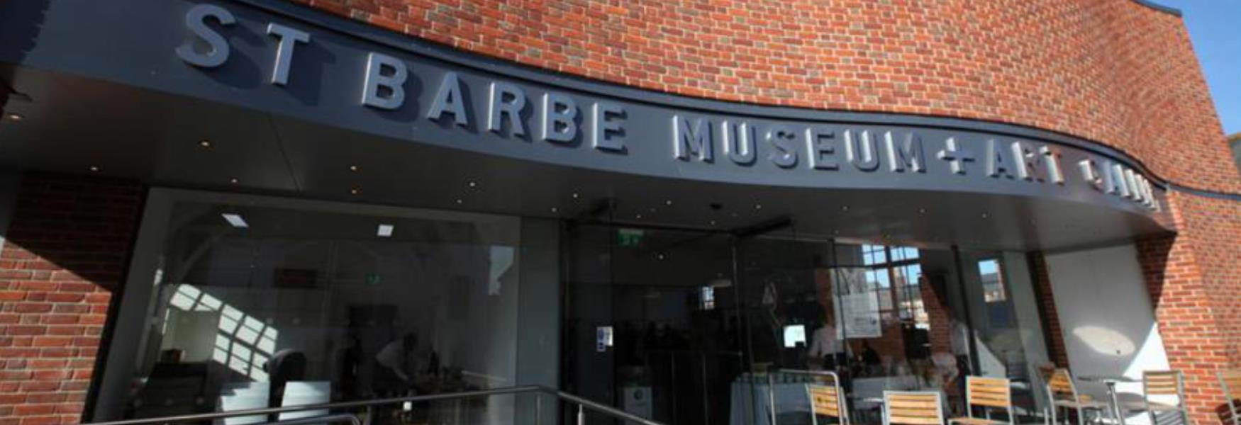 st barbe museum and art gallery in lymington in the new forest