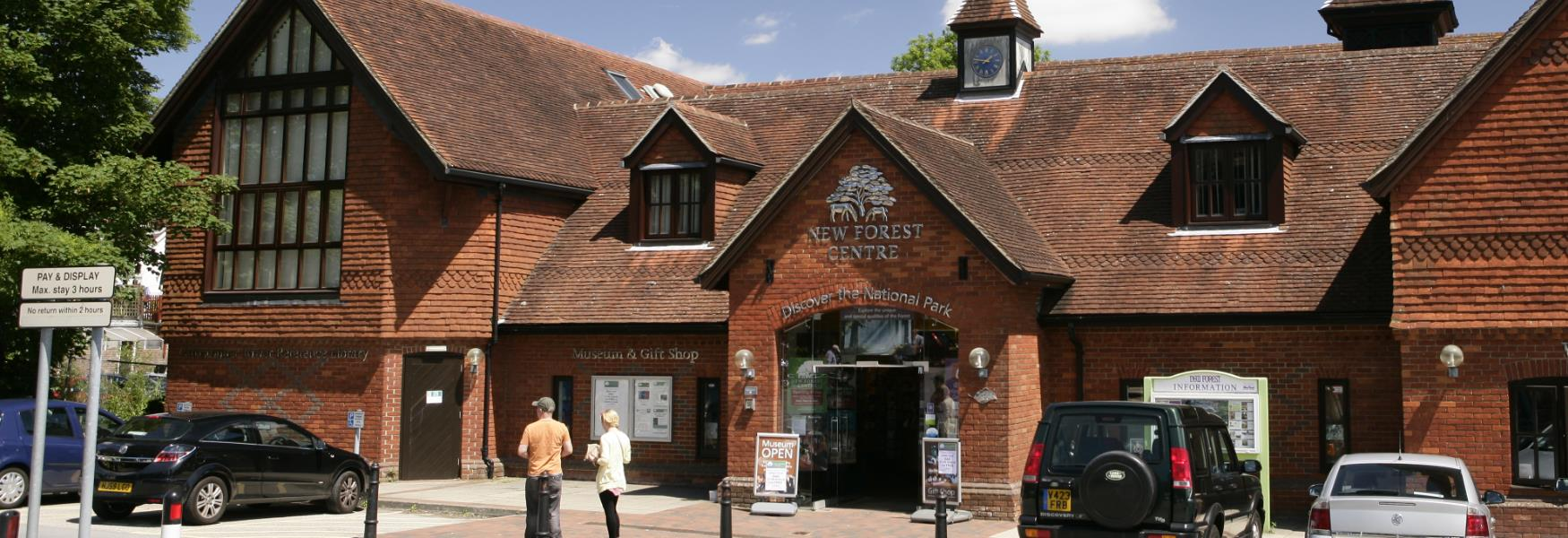 arts craft and museum attraction at the new forest centre in the new forest