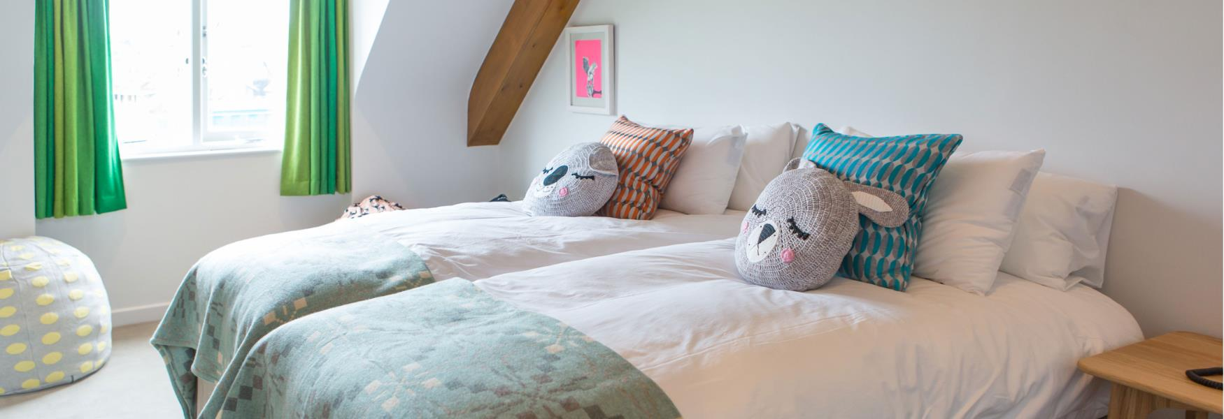 Bedroom Family Friendly Accommodation in the New Forest