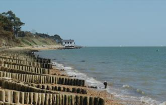 Exbury village and Lepe