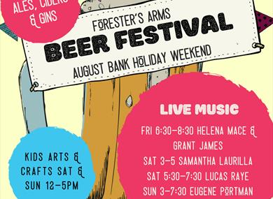 Foresters Beer, Cider & Gin Festival