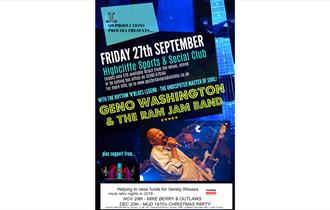Geno Washington Retro Charity Evening