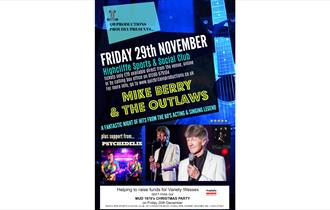 Mike Berry & the Outlaws 1960's Retro Charity Evening