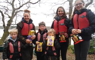 Canoe Easter Egg Hunt