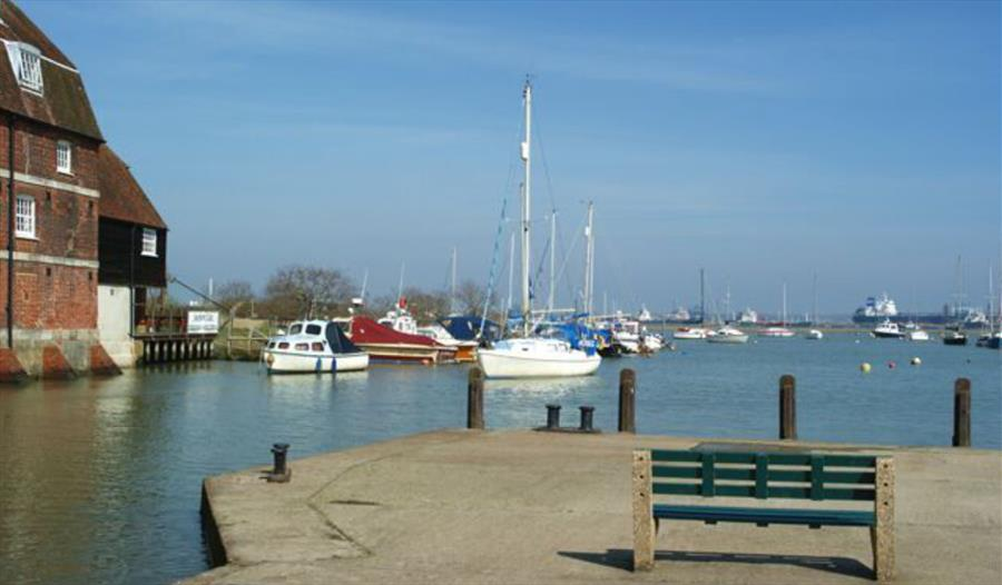 Ashlett Creek to Calshot Spit