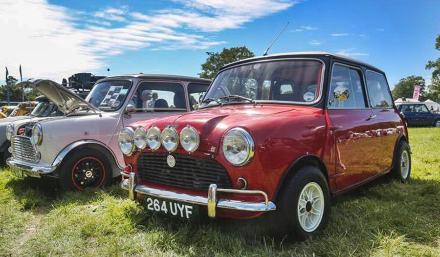 MINI COOPER REGISTER RALLY