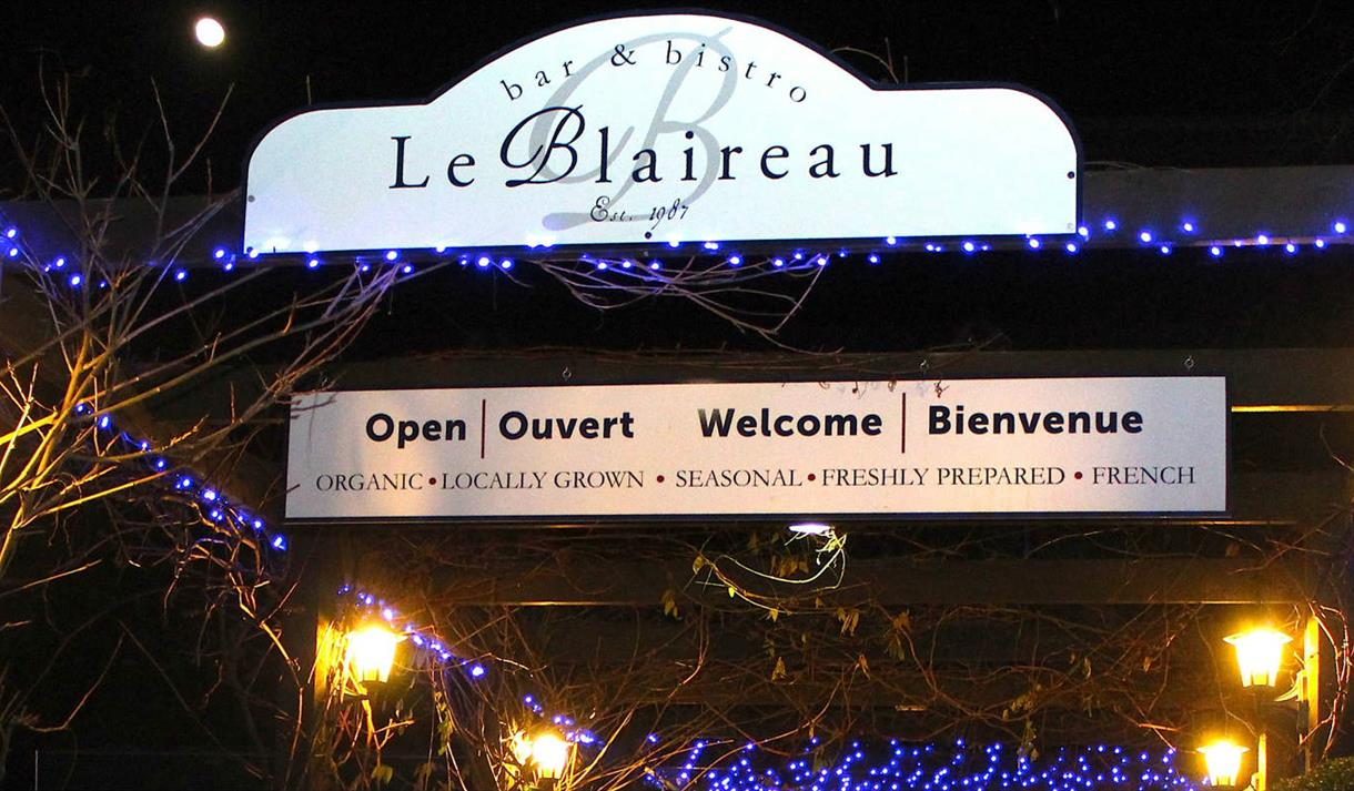 Christmas Day Lunch at Le Blaireau