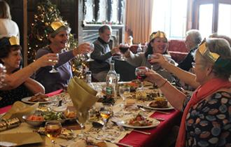 Christmas Lunch at Minstead Lodge