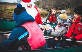 Christmas Canoe Paddle with New Forest Activities