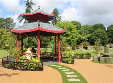 The Japanese Garden at Paultons Park
