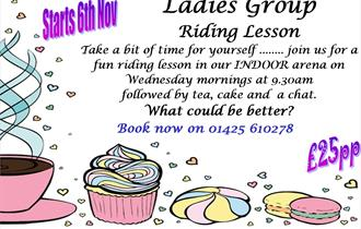 'Ladies Group' Riding Lesson