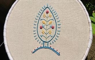 Jacobean Embroidery Class