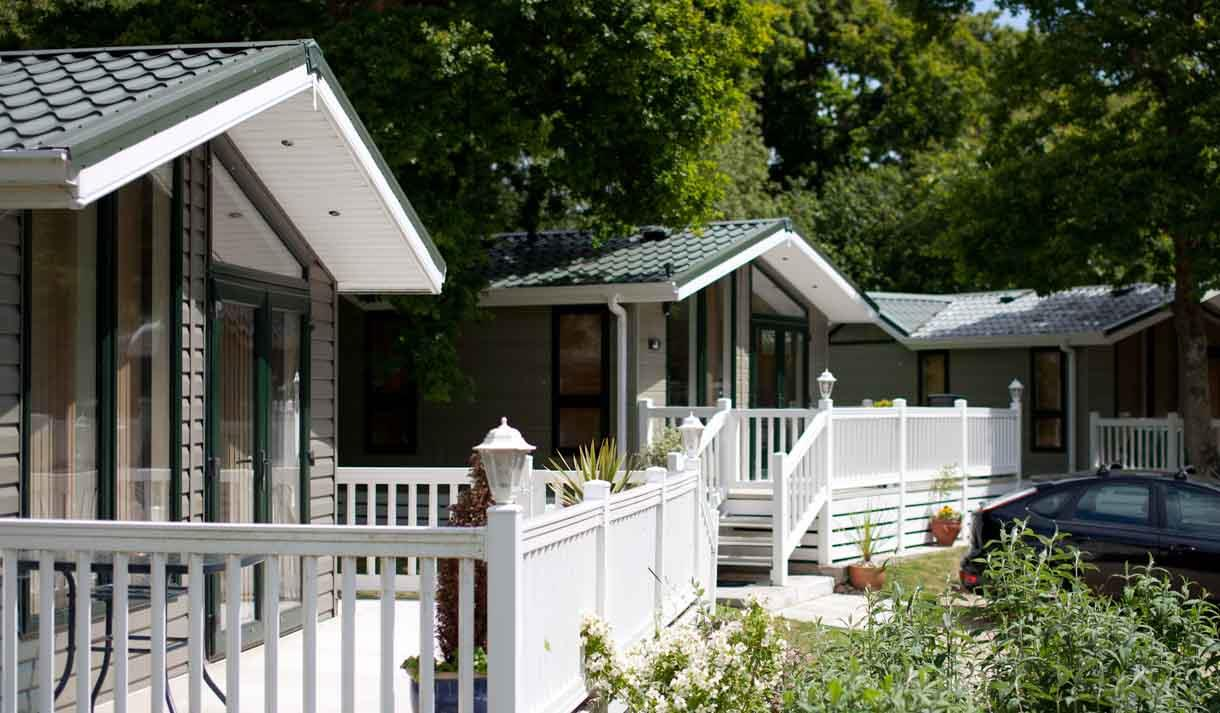 cabins chalets in the new forest
