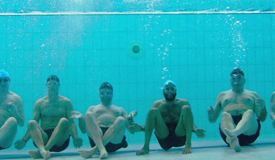 FILM: SWIMMING WITH MEN (12A)
