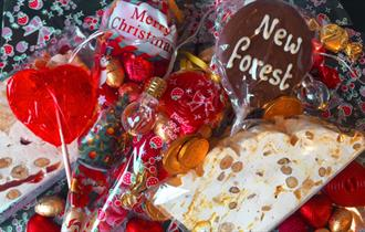 Limited Time Offer on Christmas Sweet Cone Bags - Part of New Forest Food and Drink Fortnight