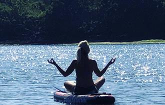 Stand Up Paddle Board Yoga Experience
