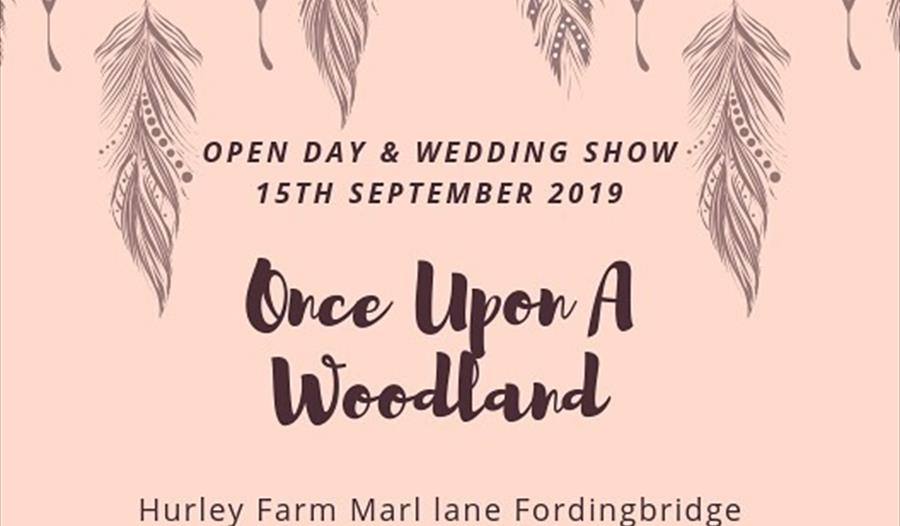 Once Upon a Woodland Wedding Open Day