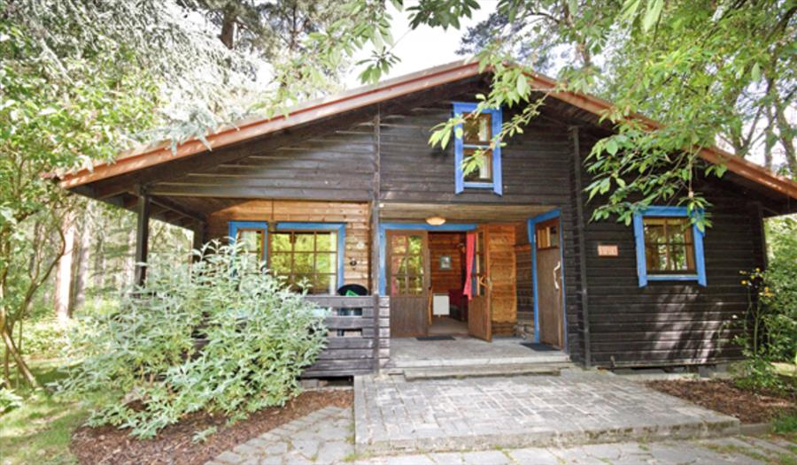 chalet lodge at Karelia holidays self catering holiday cottages in the new forest