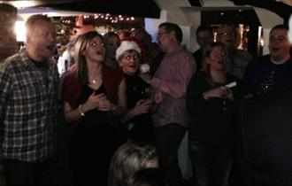 Sing-A-Long Christmas Carol Night at The Waterloo Arms