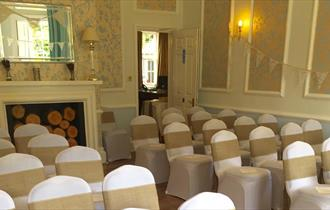 The Woodlands Lodge Hotel Wedding Ceremony Venue